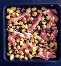 potatoes bacon